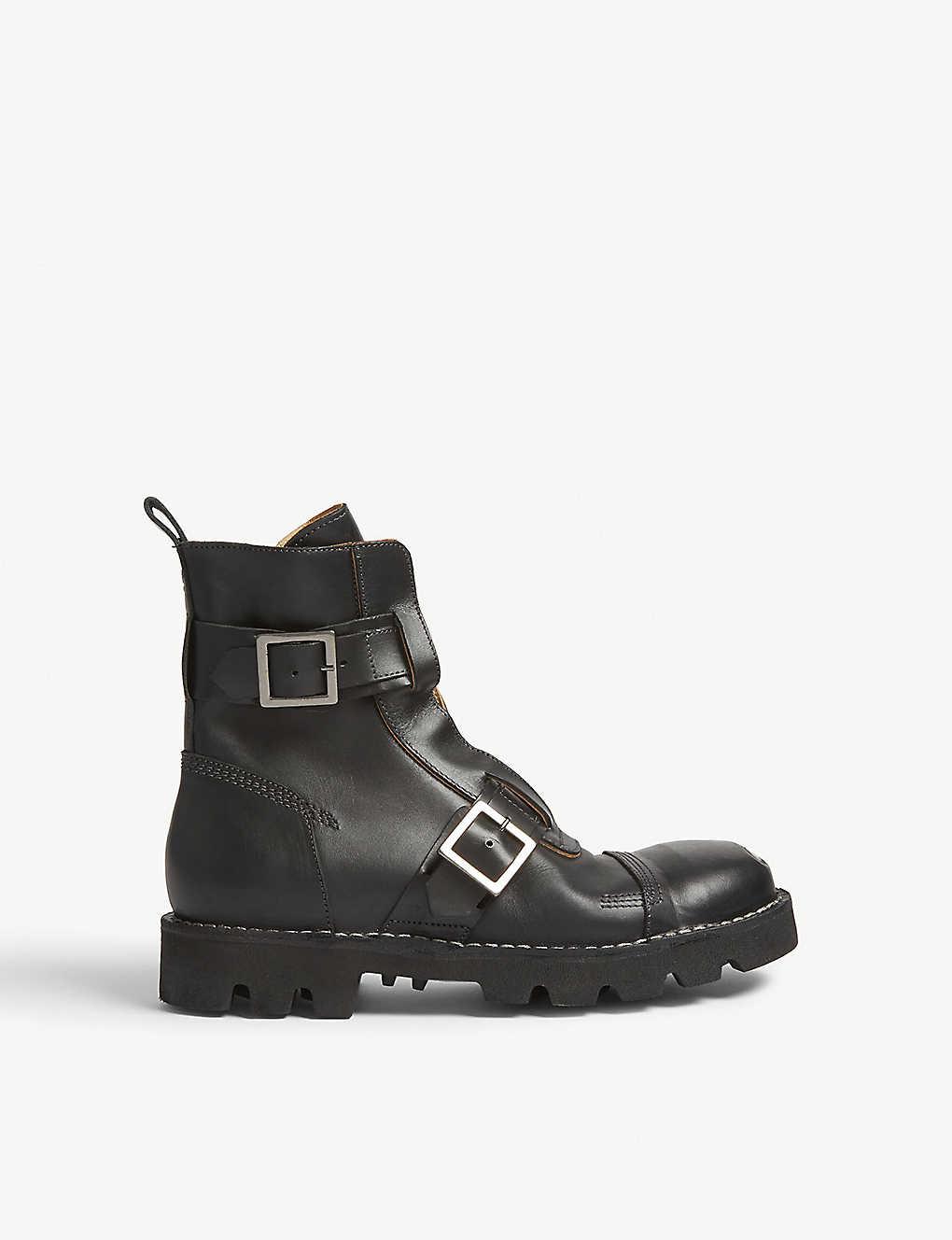 270116bf8bd DIESEL - Hardkor steel toe leather boots | Selfridges.com
