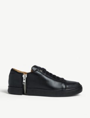 DIESEL S-Nentish leather low-top trainers