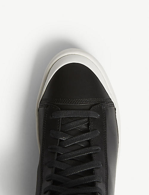 DIESEL S-Nentish leather high-top trainers