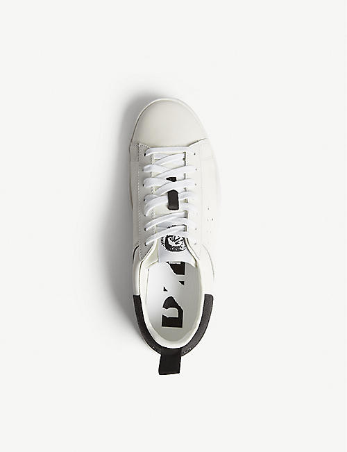DIESEL S-Clever leather low-top trainers