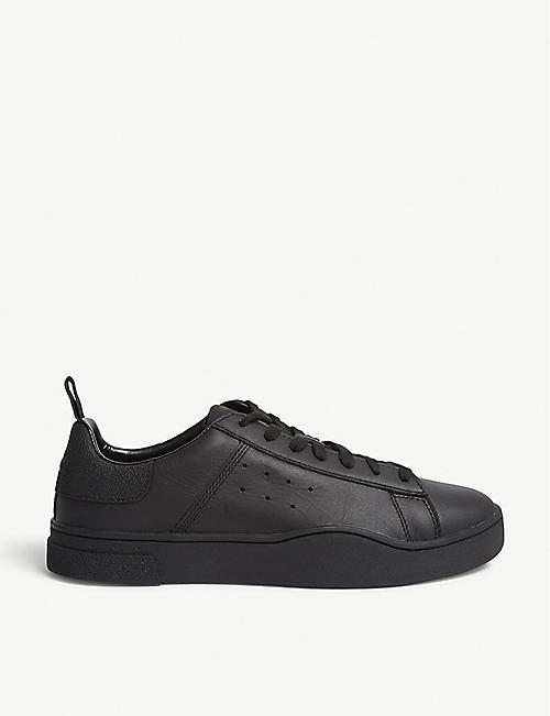 DIESEL: Diesel S-clever leather low-top sneakers