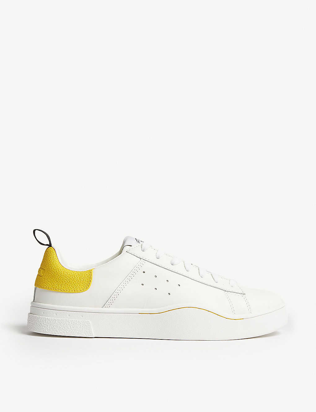 DIESEL: S-Clever leather low-top trainers