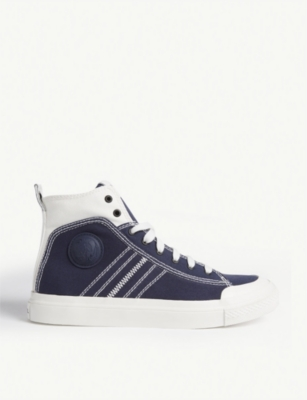 DIESEL S-Astico canvas hi-top trainers