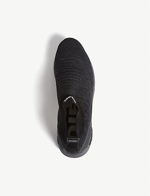 DIESEL S-KB knitted trainers