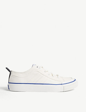 DIESEL S-Astico canvas low-top trainers