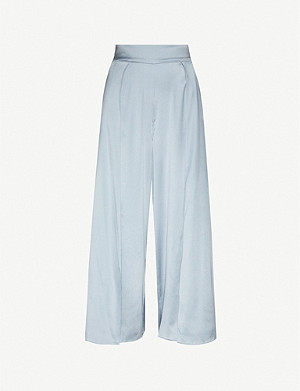 MYLA Covent Garden silk-satin trousers