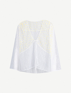 MYLA Mayflower Road mesh top