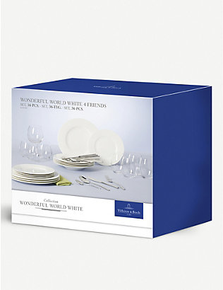VILLEROY & BOCH: Wonderful World 36-piece dinner set