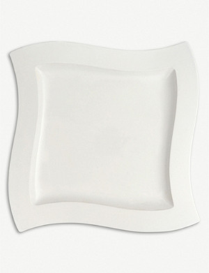 VILLEROY & BOCH NewWave square serving plate 34x34cm
