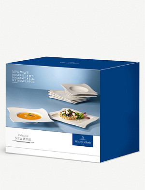 VILLEROY & BOCH NewWave porcelain dinner 8-piece set