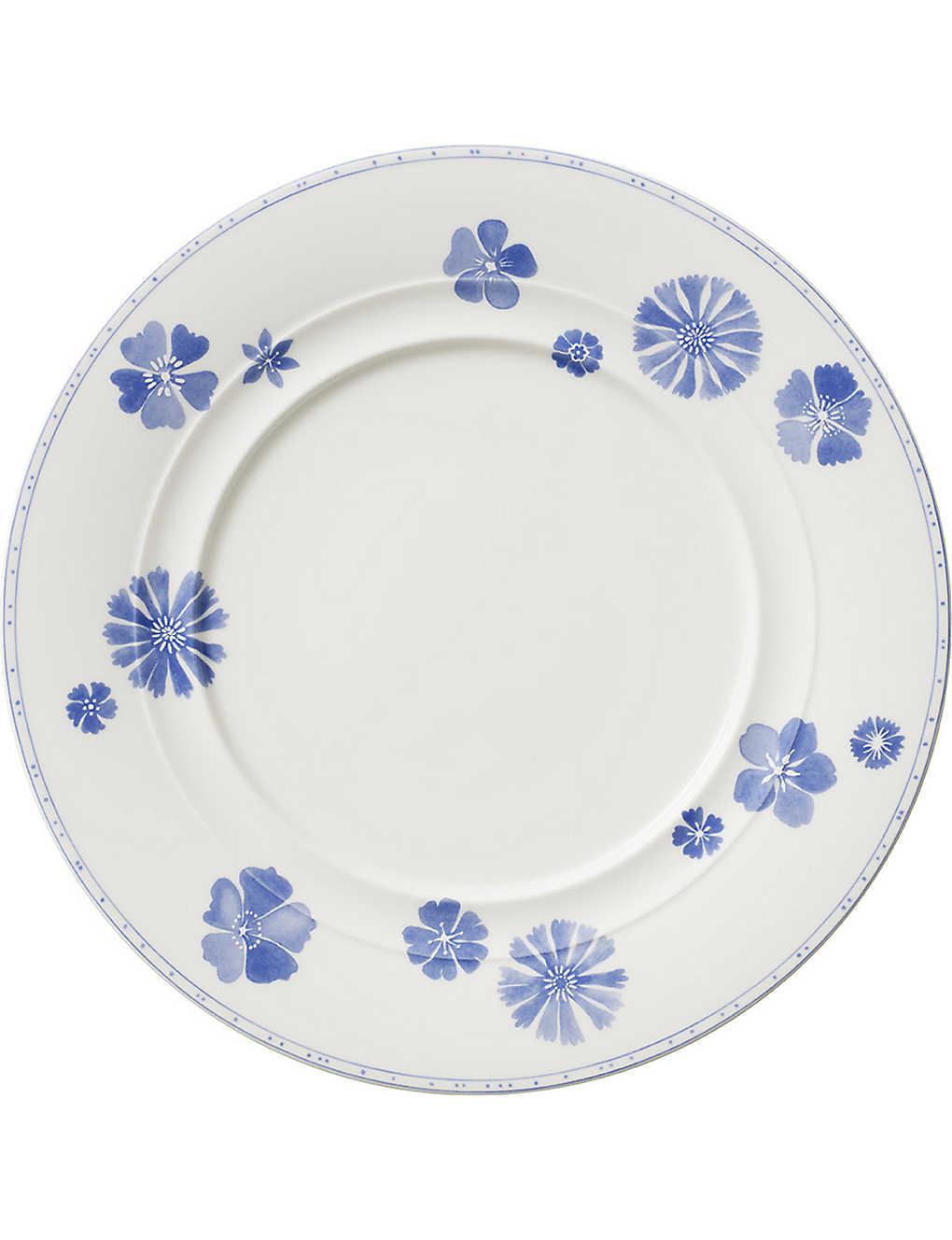 VILLEROY & BOCH - Farmhouse Touch Blueflowers dinner plate 28cm ...