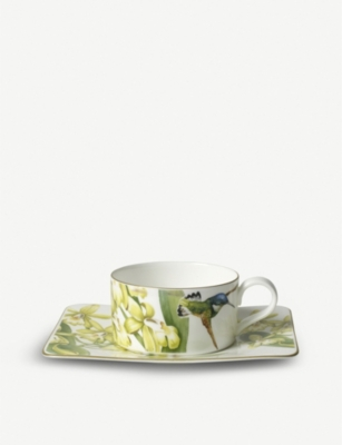 VILLEROY & BOCH Amazonia china tea 8-piece set