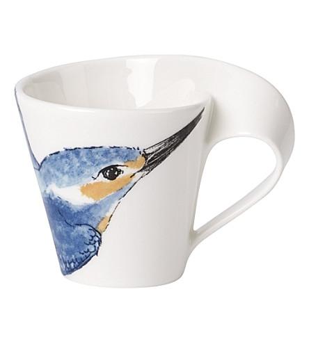 villeroy boch new wave caffe kingfisher espresso cup