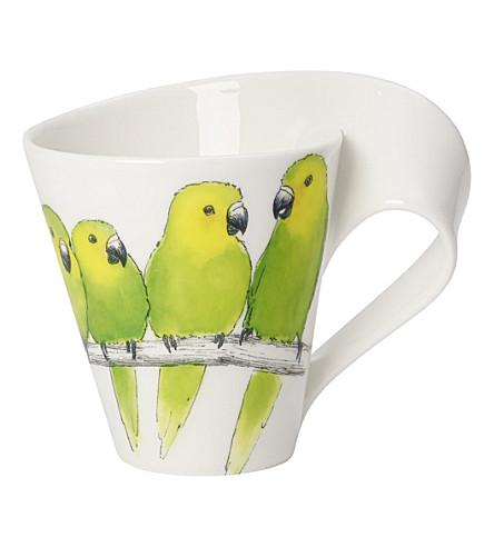 villeroy boch new wave caffe conure coffee mug. Black Bedroom Furniture Sets. Home Design Ideas