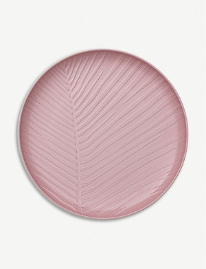 VILLEROY & BOCH It s my match pink leaf plate 24x3cm