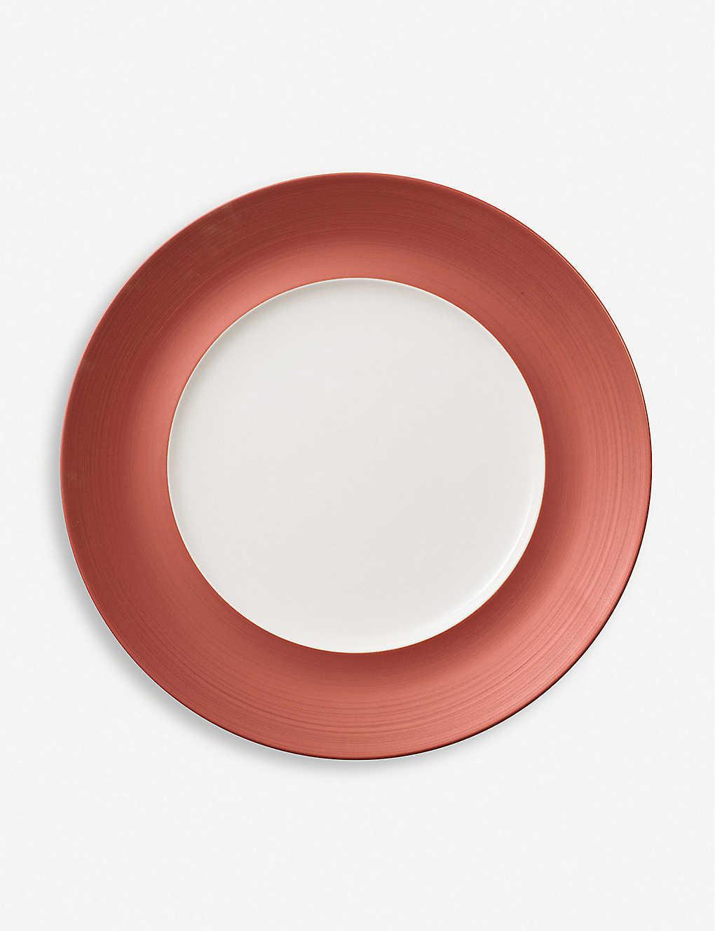 VILLEROY & BOCH - Manufacture Glow porcelain flat plate 7cm