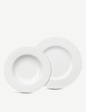 VILLEROY & BOCH Royal porcelain plate 12-piece set