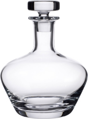 VILLEROY & BOCH Scotch Whisky crystal carafe No.3