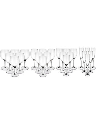 VILLEROY & BOCH: Maxima 24-piece crystal glass starter set