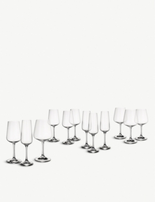 VILLEROY & BOCH Ovid glasses set of twelve