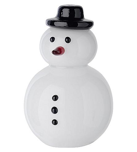 villeroy boch big glass snowman 23cm. Black Bedroom Furniture Sets. Home Design Ideas