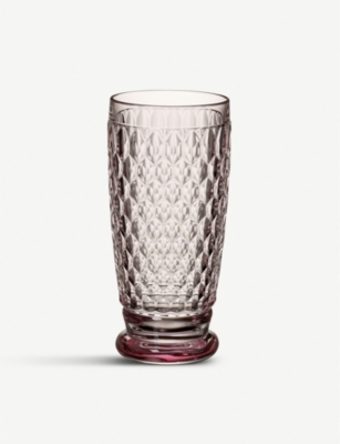 VILLEROY & BOCH Boston crystal-glass highball tumbler