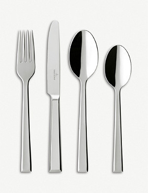 VILLEROY & BOCH Victor 24-piece stainless steel cutlery set