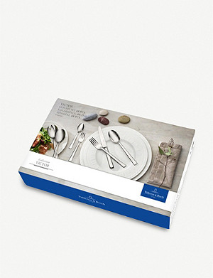 VILLEROY & BOCH Victor 68-piece stainless steel cutlery set