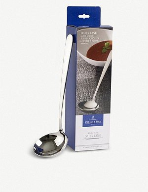 VILLEROY & BOCH Daily Line stainless steel soup ladle 31cm