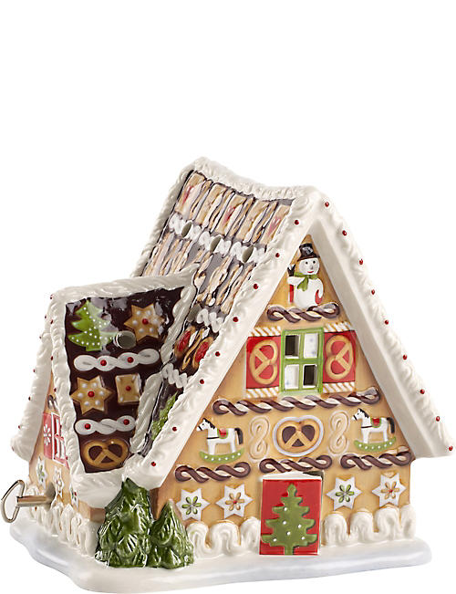 VILLEROY & BOCH: Gingerbread House Christmas music box
