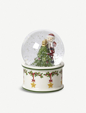 VILLEROY & BOCH Glass and porcelain snow globe 10cm