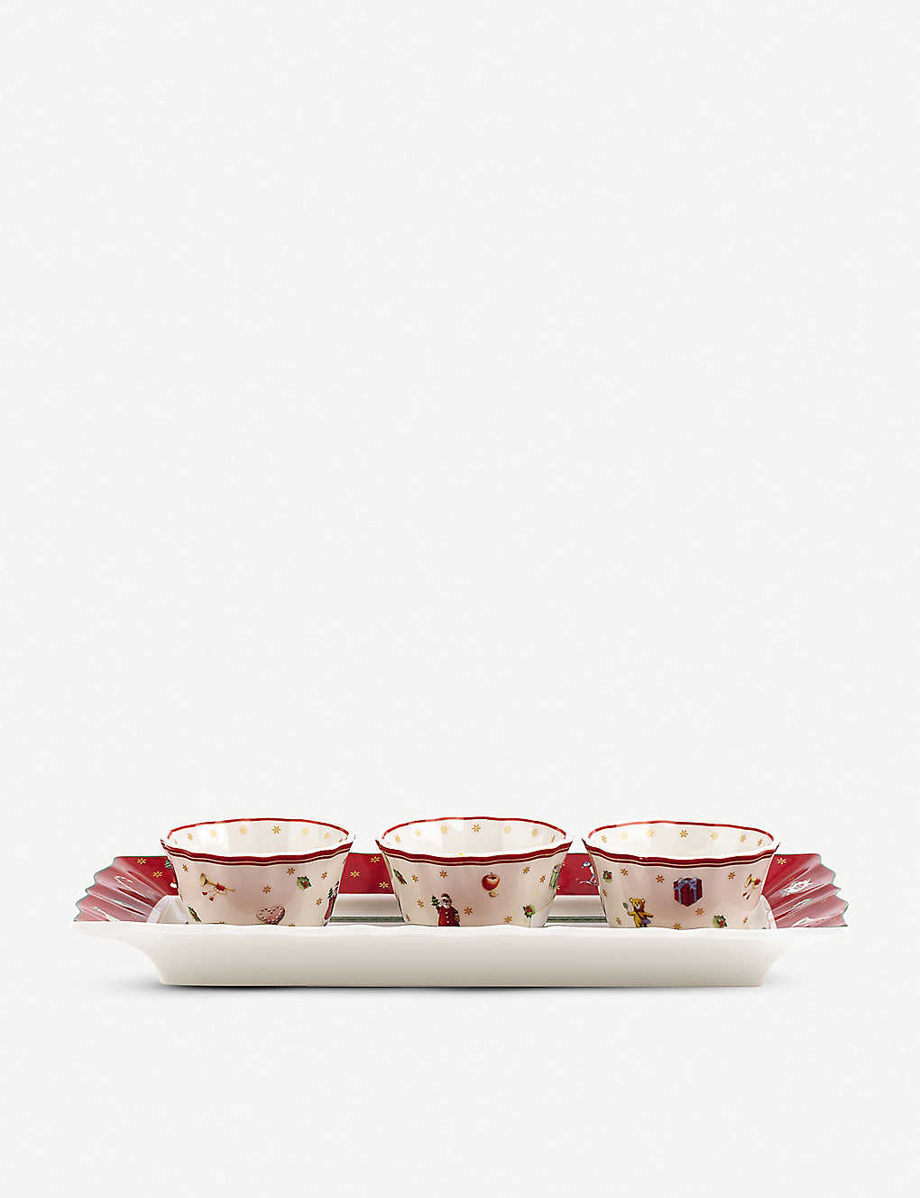 VILLEROY & BOCH: Toy's Delight dip set of four