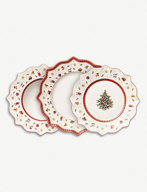 VILLEROY & BOCH Toy's Delight porcelain plate 12-piece set