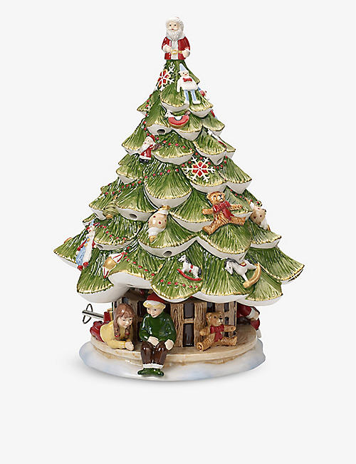VILLEROY & BOCH: Christmas Tree musical figurine 30cm