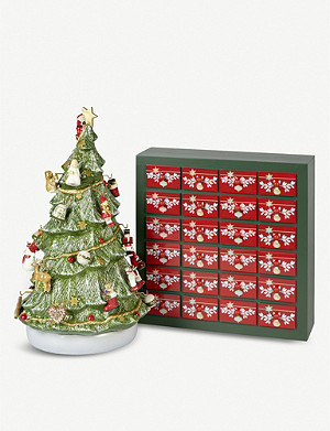 VILLEROY & BOCH Advent calendar porcelain tree 53cm