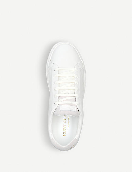 KURT GEIGER LONDON Lane leather trainers