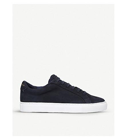 Lane Suede Sneakers, Navy