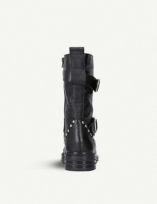 KURT GEIGER LONDON Sting leather boots