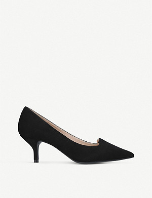 KURT GEIGER LONDON Peony suede courts