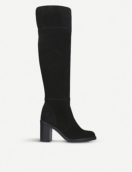 e8446d2f3 KURT GEIGER LONDON Tring over-the-knee suede boots