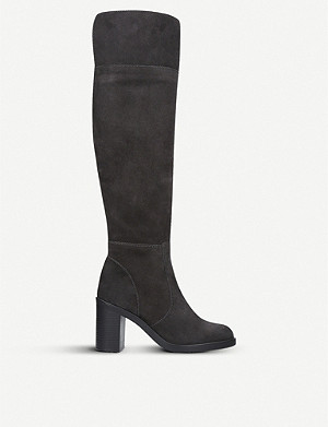 KURT GEIGER LONDON Tring suede over-the-knee boots