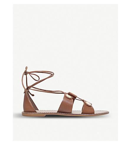 90c025e2208c KURT GEIGER LONDON - Marci lace-up leather sandals