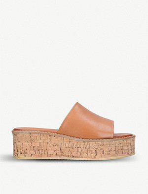 KURT GEIGER LONDON Maci leather sandals