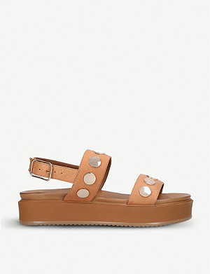 KURT GEIGER LONDON Makenna leather sandals