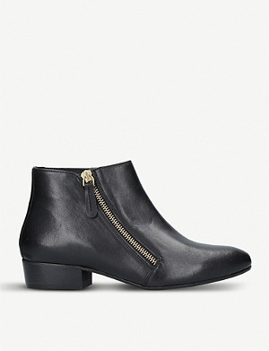 KURT GEIGER LONDON 莎莉皮革踝靴