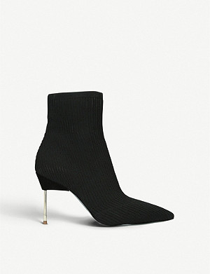 KURT GEIGER LONDON Barbican heeled sock boots