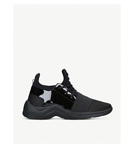 b075612d6fe ... KURT GEIGER LONDON Linford Drench textile sneakers (Black. PreviousNext