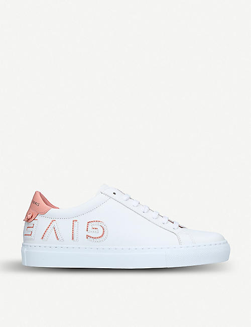 c940740a3f36 GIVENCHY Embellished low-top leather trainers