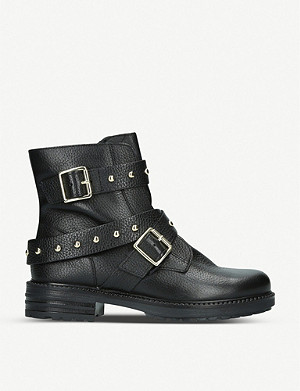 KURT GEIGER LONDON Stinger studded leather boots