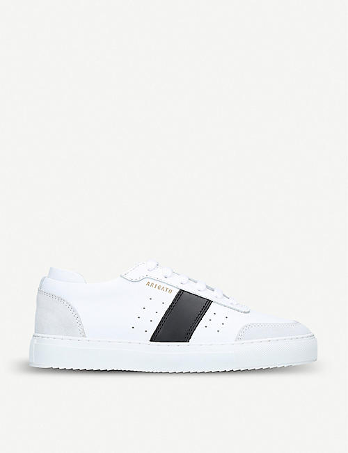 d3a29e67f AXEL ARIGATO Dunk leather and suede trainers
